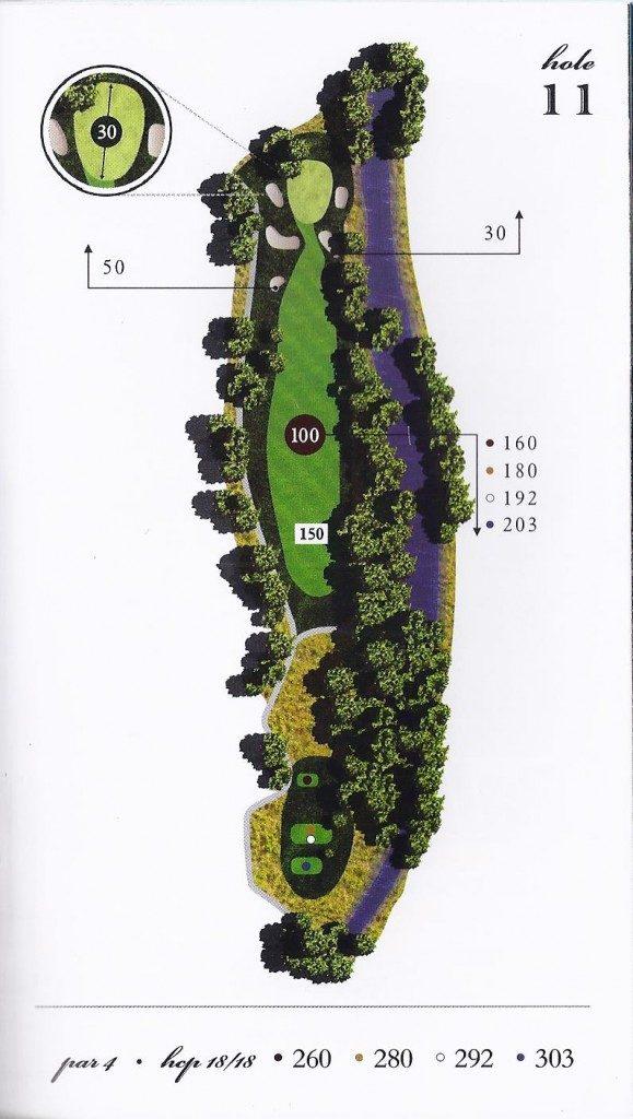 Hole-11-map